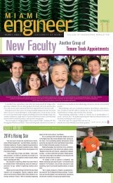 We Welcome Your News - BME - University of Miami