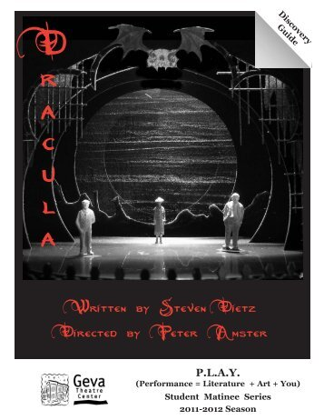 Written by Steven Dietz Directed by Peter Amster - Geva Theatre