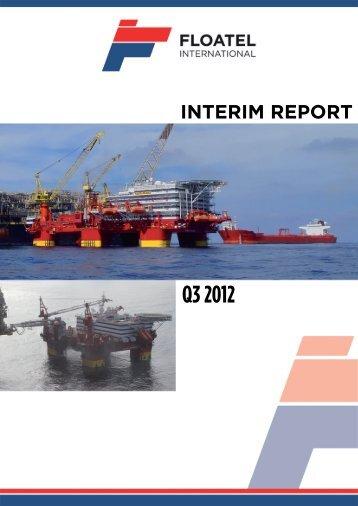 Q3 2012 - Floatel International