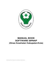 manual book software sipnap - Sistem Pelaporan Narkotika dan ...