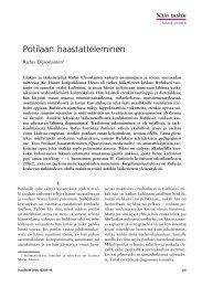 Potilaan haastatteleminen - Duodecim