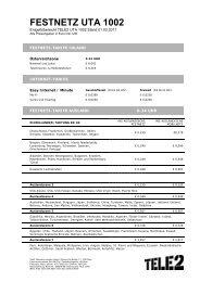 FESTNETZ UTA 1002 - Tele2
