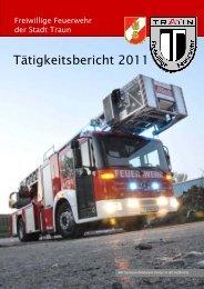 Tätigkeitsbericht 2011 - Freiwillige Feuerwehr der Stadt Traun