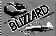 1973 Blizzard - Vintage Snow