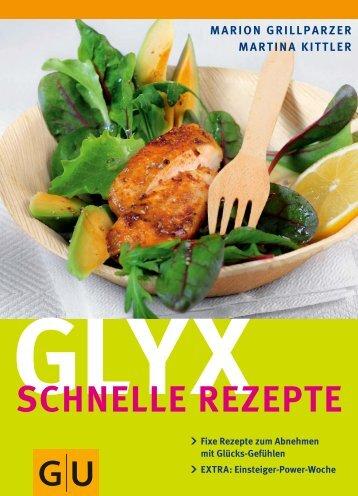 GLYX SCHNELLE REZEPTE