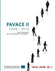 PAVACE II - El conseller de Economía, Industria, Turismo y Empleo