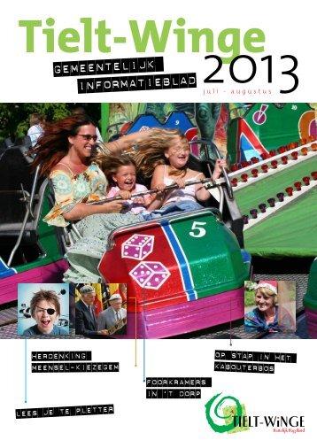 augustus 2013 - gemeente Tielt-Winge