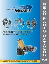 Gear Parts - Metaris