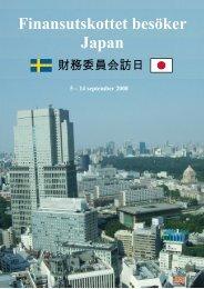 FiUs studieresa till Japan - Lars Elinderson