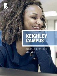 Keighley Campus prospectus - Leeds City College