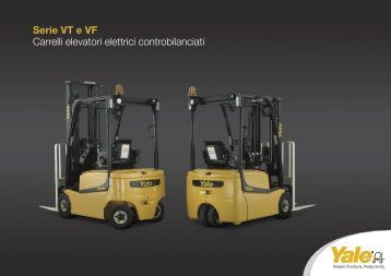 Serie VT e VF Carrelli elevatori elettrici ... - Gruppo Antonelli