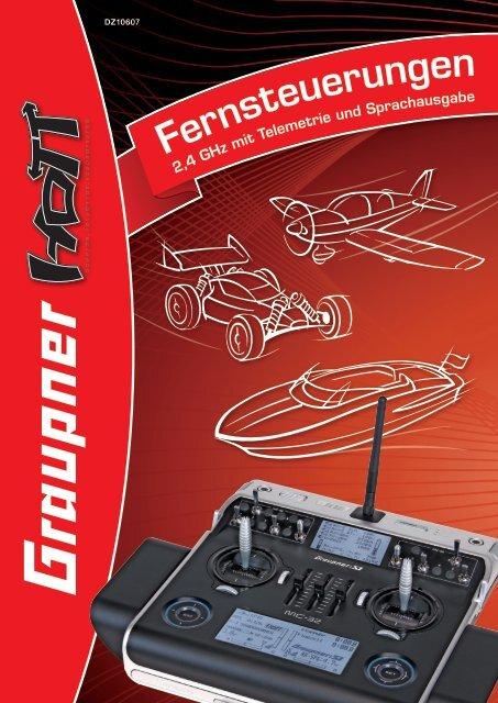 HoTT - Flyer 2012 - Graupner