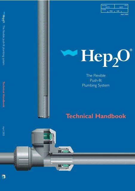 Hep2O 22mm x 10mm 4 Port Open Rail Manifold