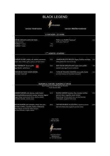 BLACK LEGEND - Groupe Floirat