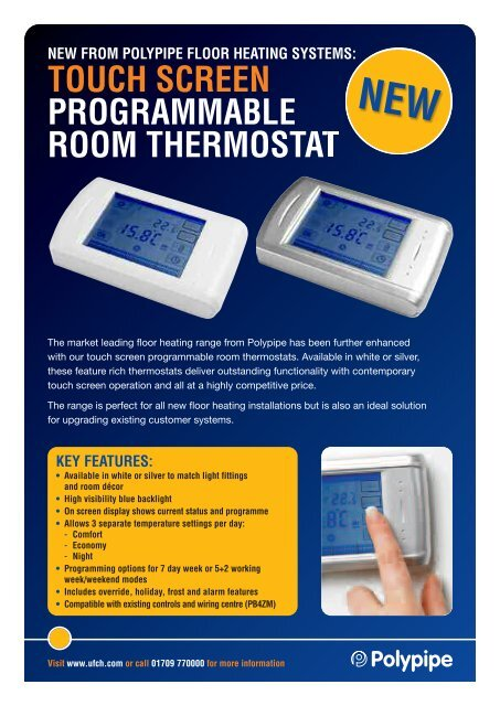 Polypipe Programmable Room Thermostat Wiring Diagram