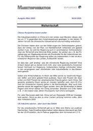 Marktbericht März 2005 - Aluminium Recycling