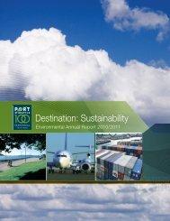 Destination: Sustainability - Port of Seattle