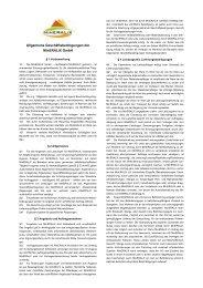 Allgemeine Geschäftsbedingungen der MinERALiX GmbH (Stand ...