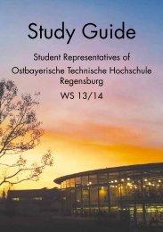 Study Guide - Hochschule Regensburg