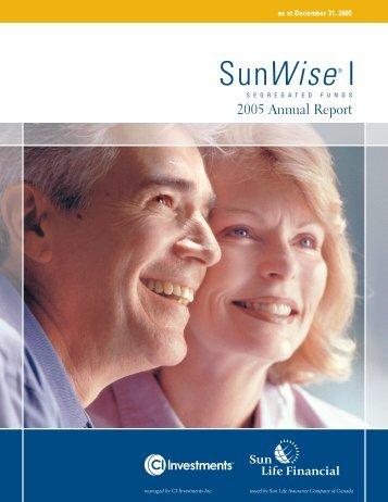 SunWise I - CI Investments