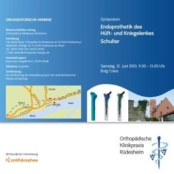Smith & Nephew GmbH - Orthopädische Klinikpraxis im Rheingau