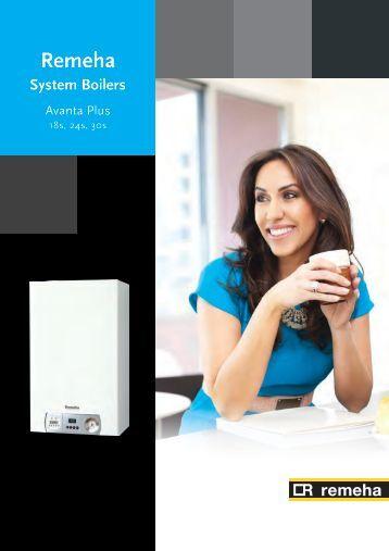 Avanta Plus System Boilers Brochure - Remeha