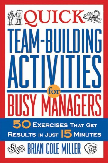 Quick team-building activities for busy managers - Vietnam World ...