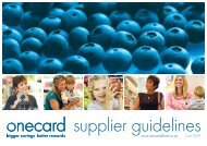 Supplier Guidelines - Countdown