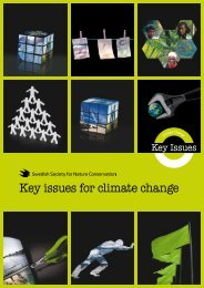 Key issues for climate change - What Next Forum