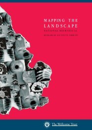 Mapping the Landscape: National biomedical ... - Wellcome Trust