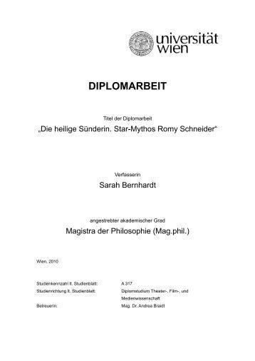 1.3. Der Star - Mythos - Das Romy Schneider Archiv