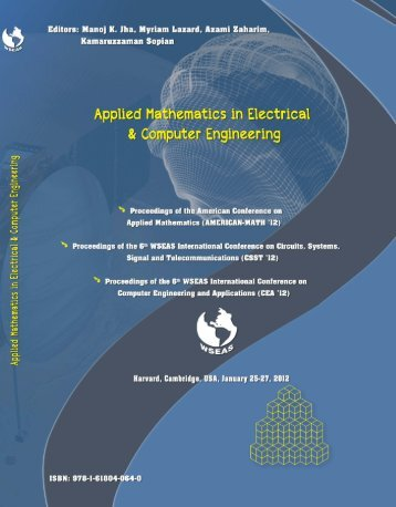 Applied Mathematics in Electrical and Computer ... - Wseas.us