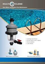 Save Water and Reduce Pool Maintenance - Certikin