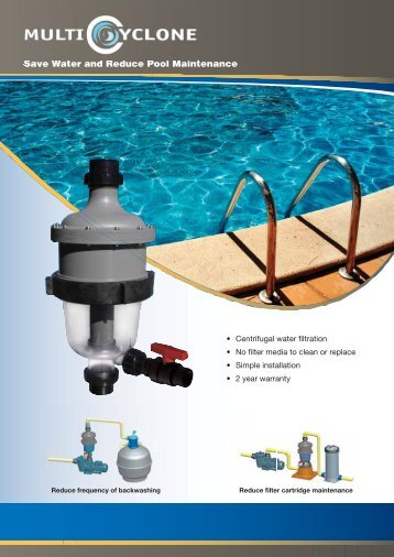 Save Water and Reduce Pool Maintenance - Certikin