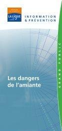 Les dangers de l'amiante - Ligue contre le cancer