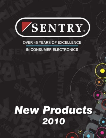 Sentry NEW ITEMS Catalog 2010 - University & College Sales