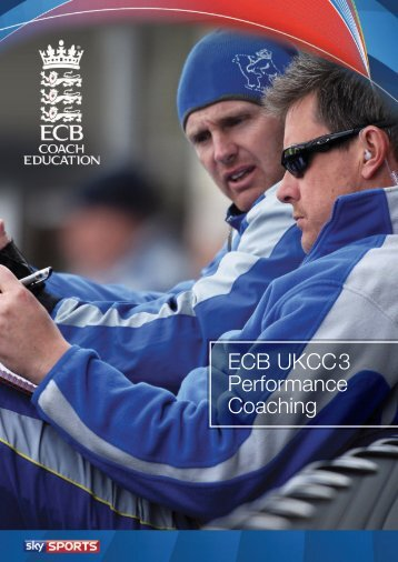 ECB UKCC3 Performance Coaching