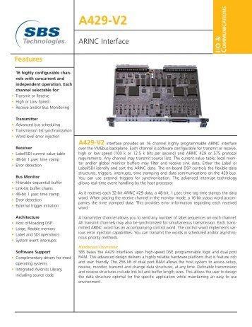 A429-V2 ARINC Interface
