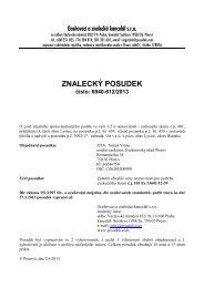 ZNALECKÝ POSUDEK číslo: 6940-612/2013 - e-aukce