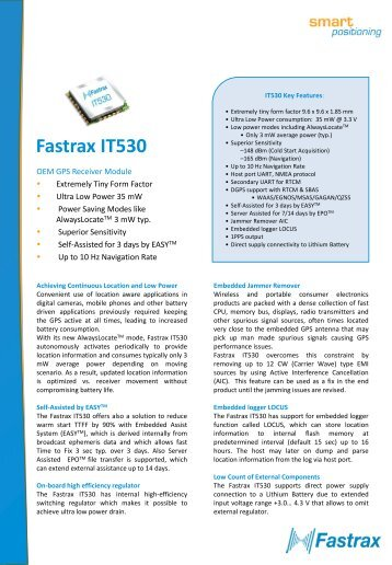 Fastrax IT530 - Glyn Store