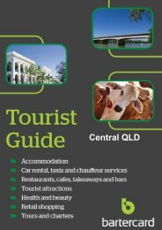 Central Queensland - Bartercard Travel
