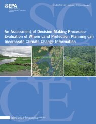 An Assessment of Decision-Making Processes - US EPA Web ...