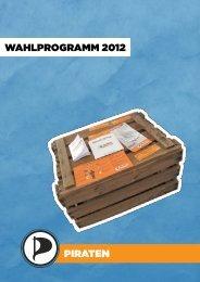das Wahlprogramm - Piratenpartei Saarland
