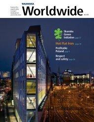Worldwide - Skanska