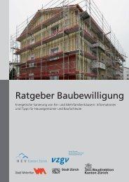 Ratgeber Baubewilligung - AWEL Amt für Abfall, Wasser, Energie ...