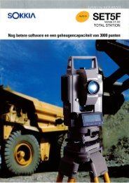 Page 1 SURVEYING INSTRUMENTS Versie 01-00 TOTAL STATION ...