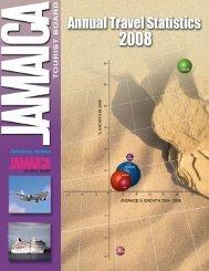 Annual Travel Statistics 2008.pdf - Jamaica Tourist Board