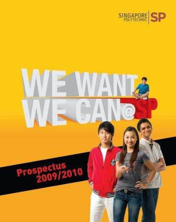 Prospectus 2009/2010 - Singapore Polytechnic