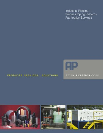 Product Guide (PDF) - Aetna Plastics Corporation