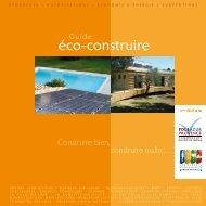 Guide éco-construire - La Communauté d'Agglomération Sophia ...